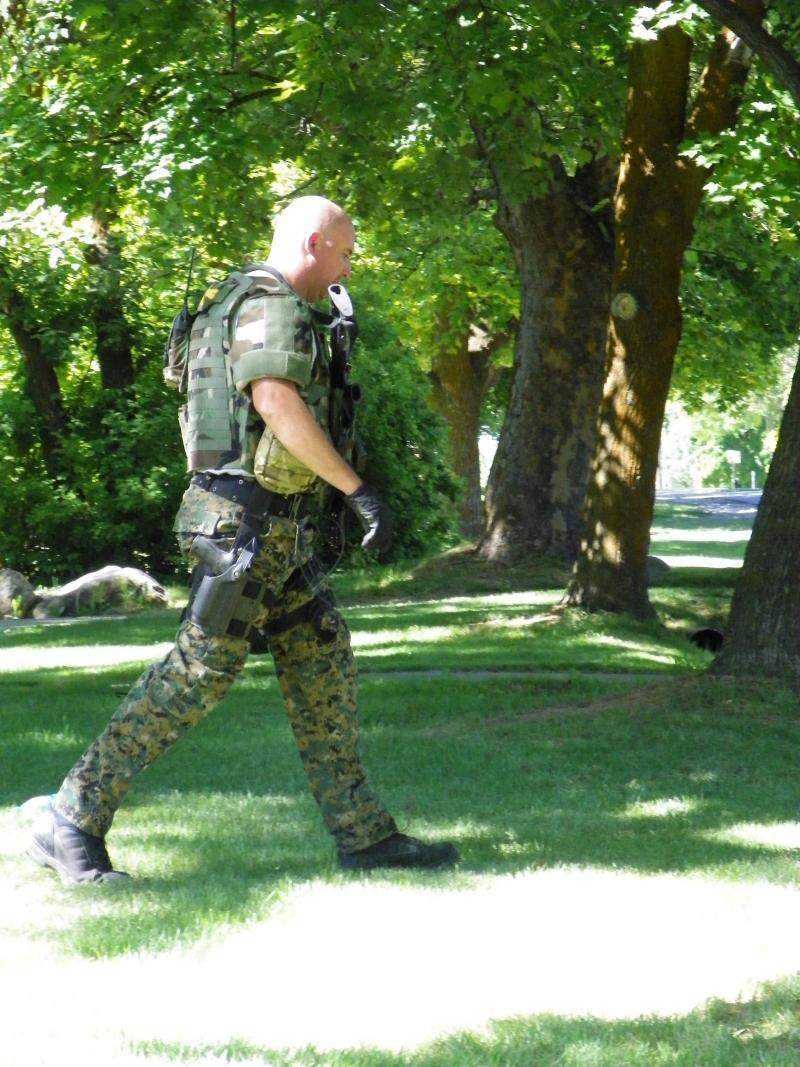 Logan City and Cache County SWAT members were called in to coax an armed man out of his home in Northern Utah on Thursday.