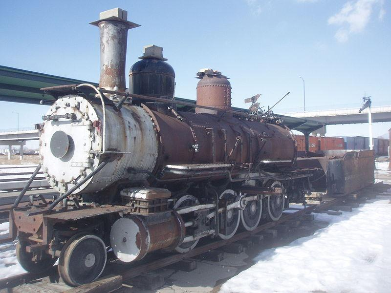 The Denver and Rio Grande Western 223, a narrow gauge steam locomotive listed on the United States National Register of Historic Places, is in the process of restoration from very poor condition.