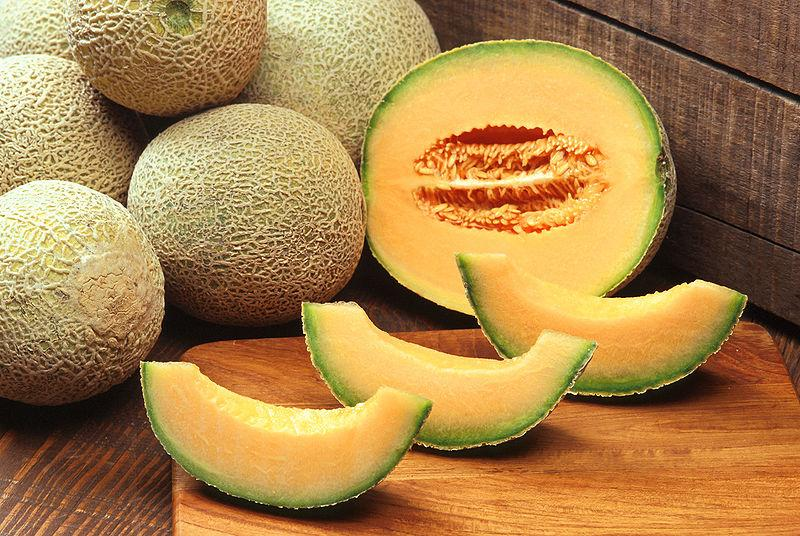 Cantaloupes are ripening all over Utah.