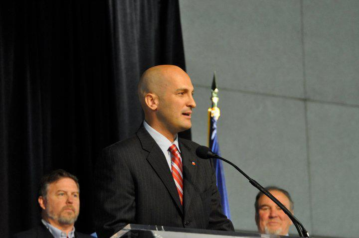 Thomas Wright at 2011 Utah GOP Convention.