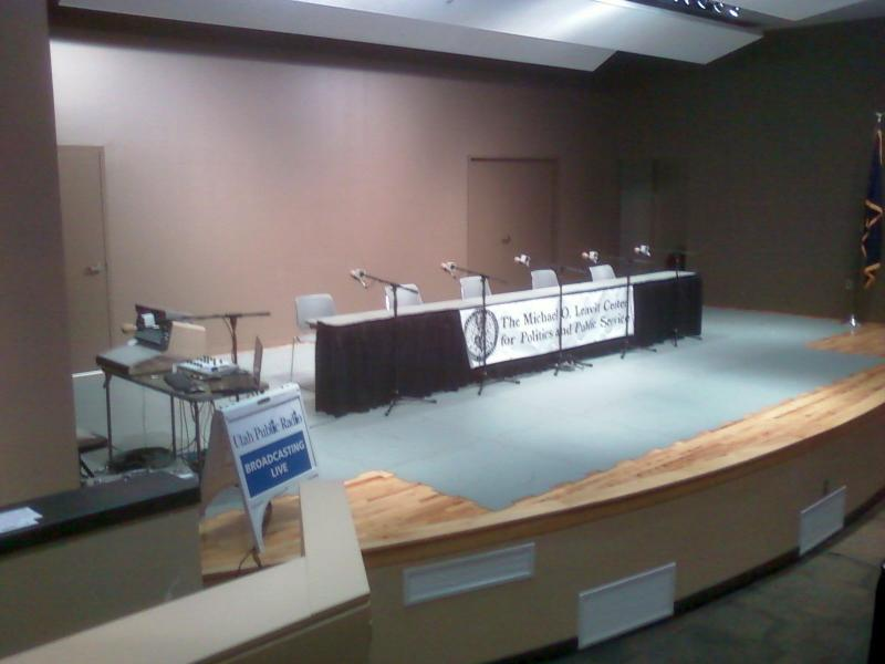 Congressional debate area