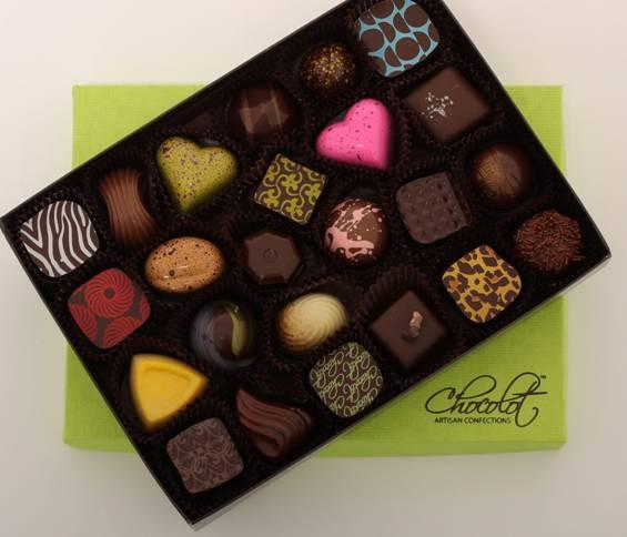 membership drive february artisan chocolot