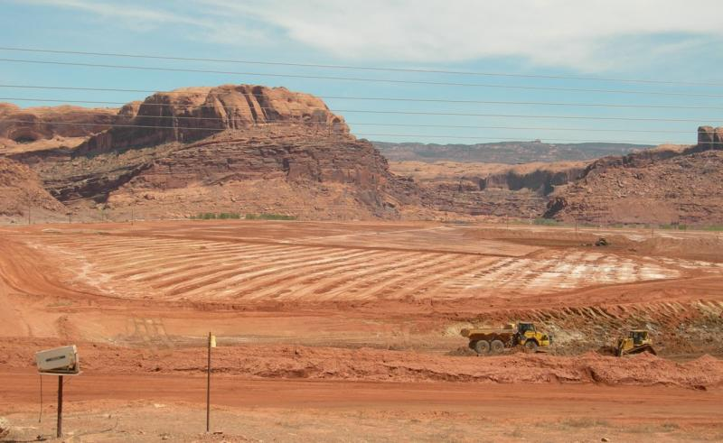 moab tailings clean up department of energy