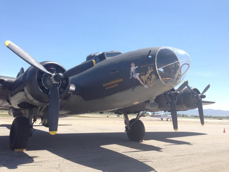 "The B-17 ""Memphis Belle"""