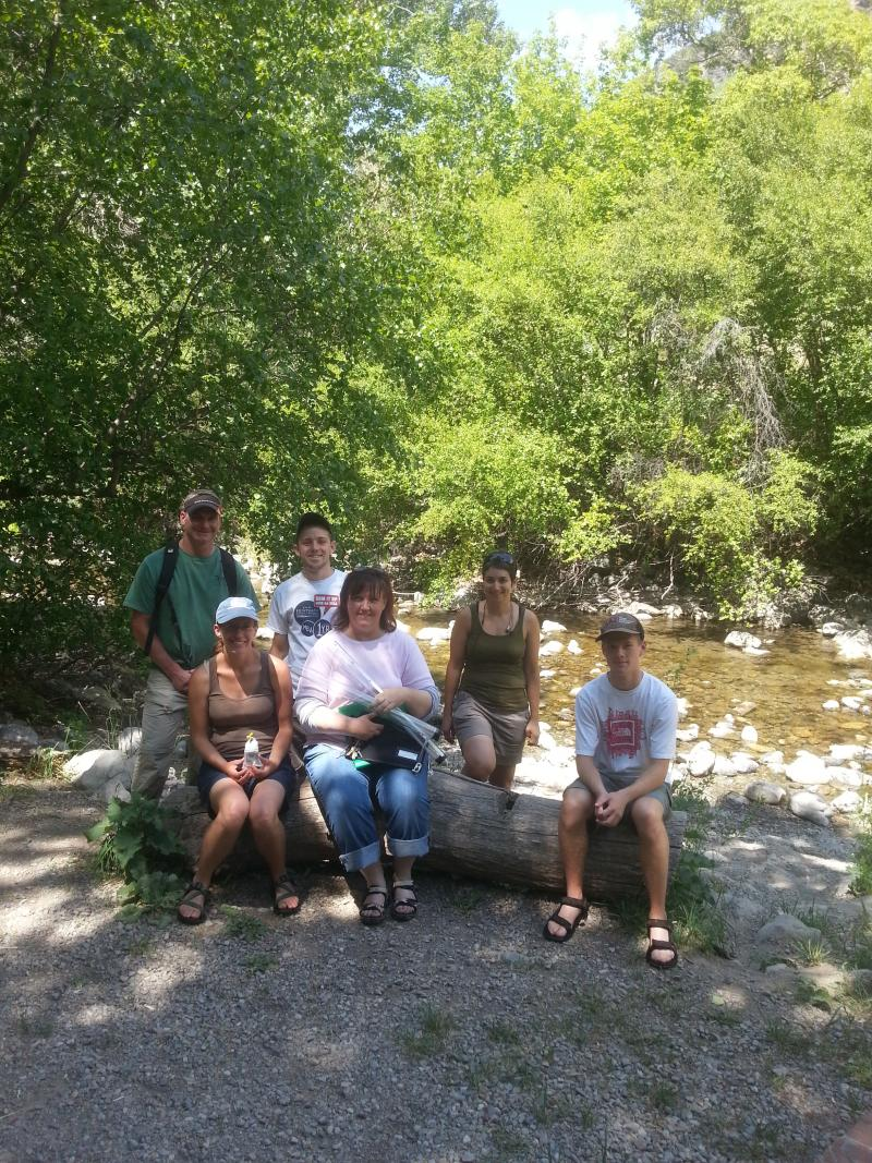Brand new citizen Scientists: These five Northern Utah residents and reporter Jennifer Pemberton participated in the 6-hour traning to become Utah Water Watch volunteers.
