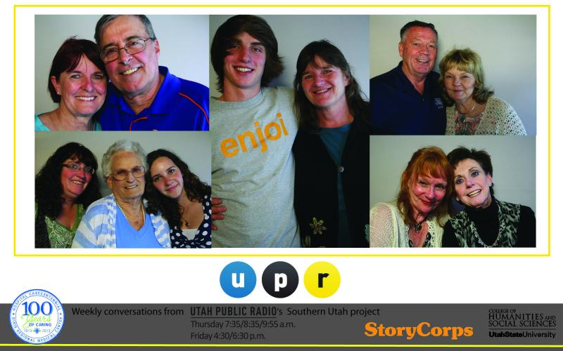 upr storycorps stories in st. george