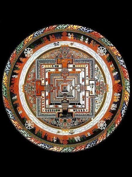 tibetan sand art mandala usu