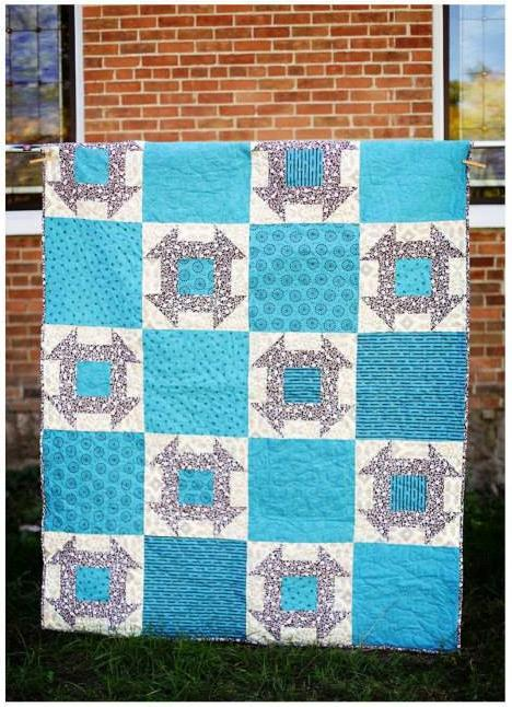 A quilt which is apart of the quilt fundraiser.
