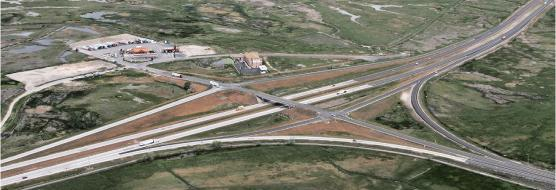 diamond interchange, brigham city, utah