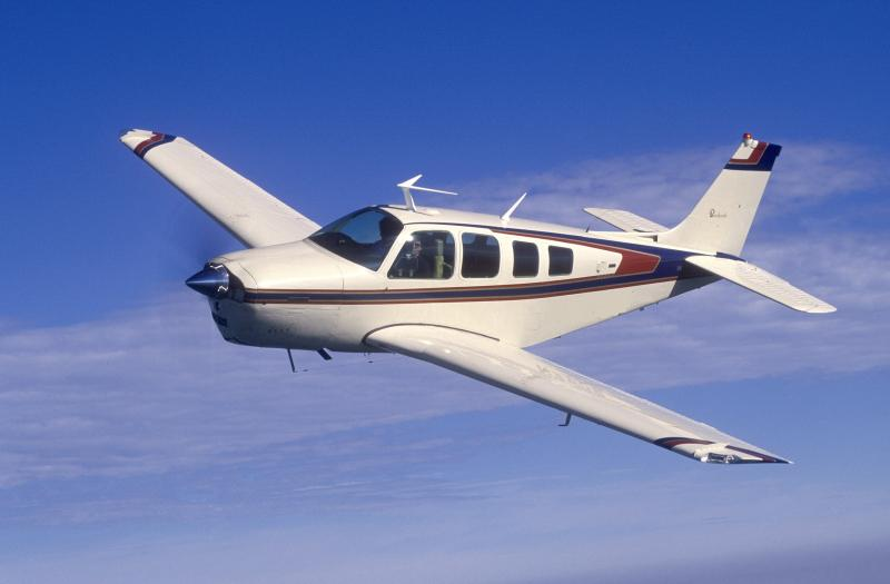 Rescuers are searching for a white and maroon BE-36 Beech Bonanza.