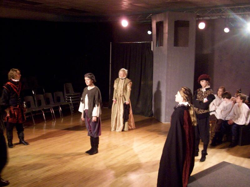 Logan Youth Shakespeare performing Cardenio.