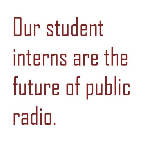 Interns are the Future