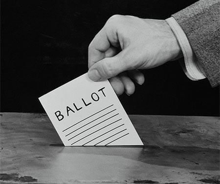 hand voting