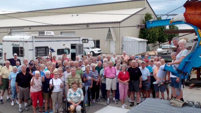 Senior citizens at Utah State University's Summer Citizens Program.