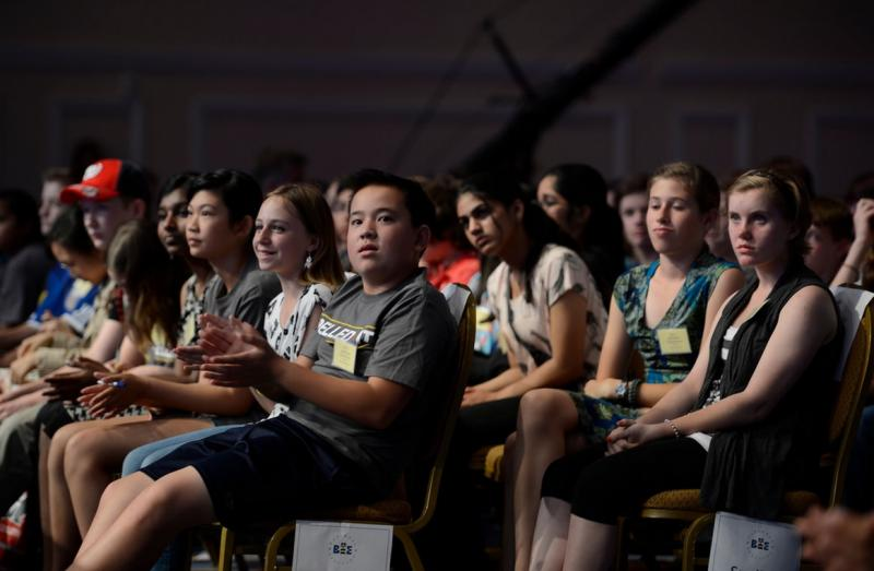 Students at the 2014 Scripps National Spelling Bee