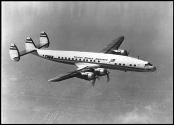 Lockheed Super Constellation aircraft