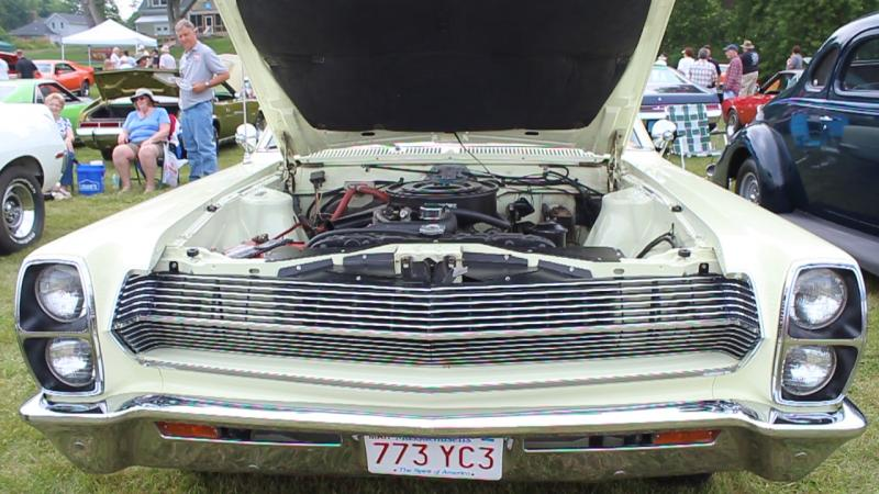 Bruce Clarkson's 1967 Ambassador at the reunion.