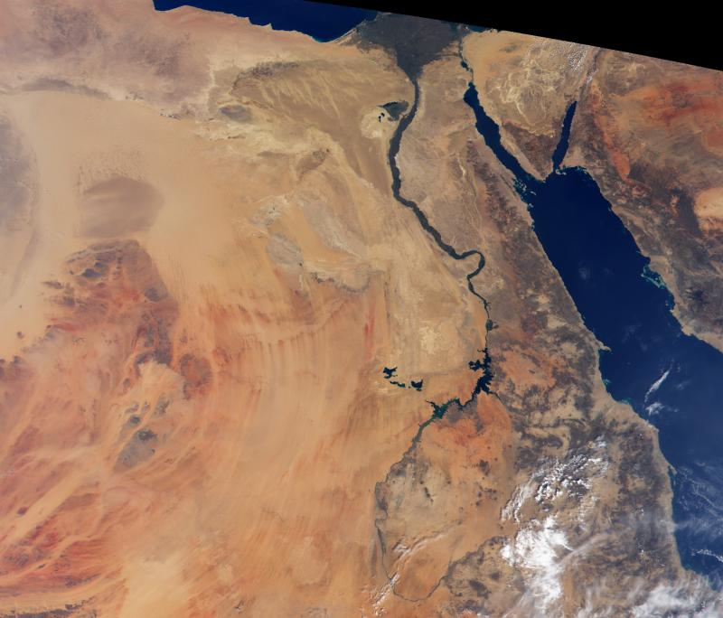 Egypt's water resources are declining and a group of U.S. scientists are travelling to Cairo to talk about solutions.