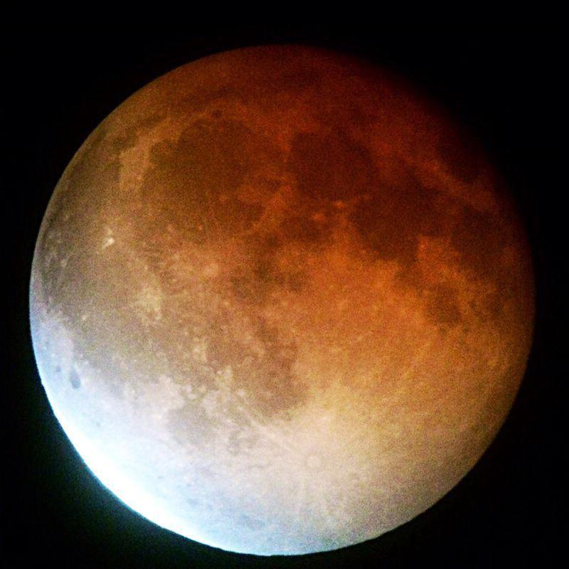Image of blood moon