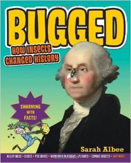 A book image of Bugged by Sarah Albee