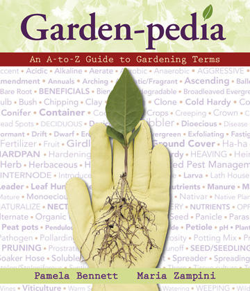 A book called Garden-pedia