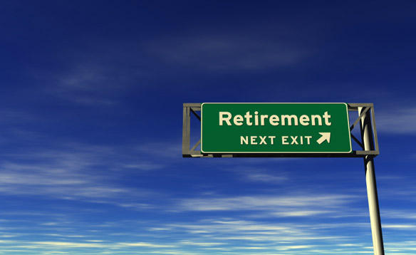 Retirement is just around the corner.