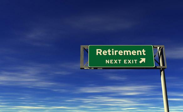 Retirement is just around the corner.