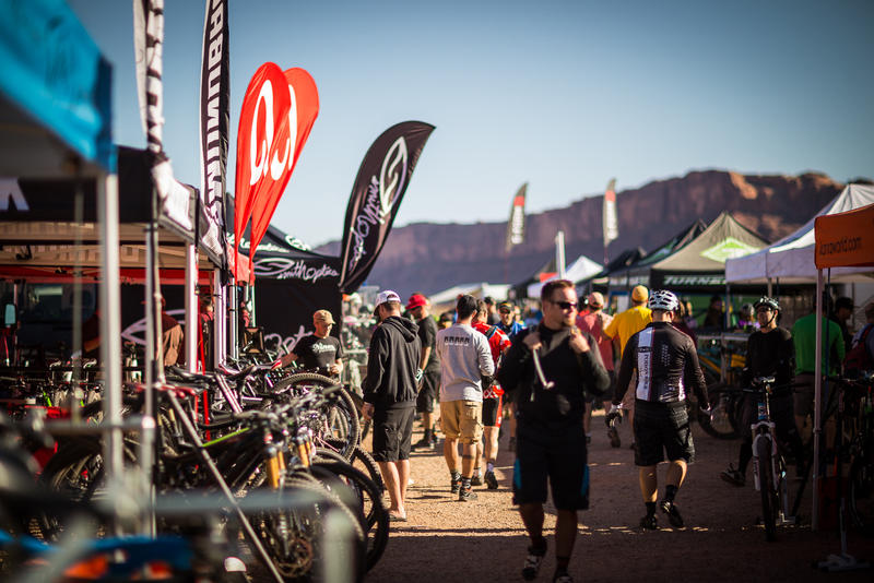 The Outerbike event took place in Moab this past weekend.