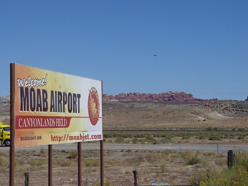 billboard for airport