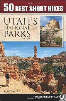 Image of 50 best Utah Hikes book