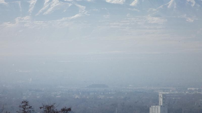 Utah continues to receive bad air quality grade.