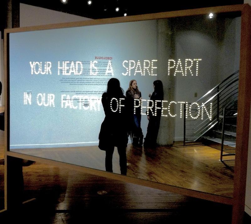 Artwork at Utah Museum of Contemporary Art