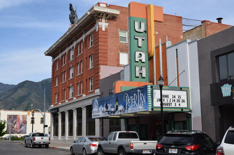 The Utah Theatre at 18 W. Center St. in downtown Logan.