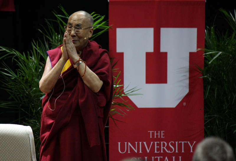 His Holiness the Dalai Lama at the University of Utah in Salt Lake City, Utah, June 22, 2016.