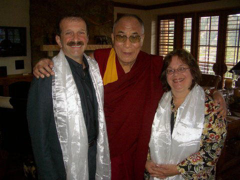 His Holiness The Dalai Lama and Dr. Zorba Paster
