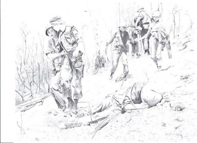 Graphite Drawing by Daniel Maynard