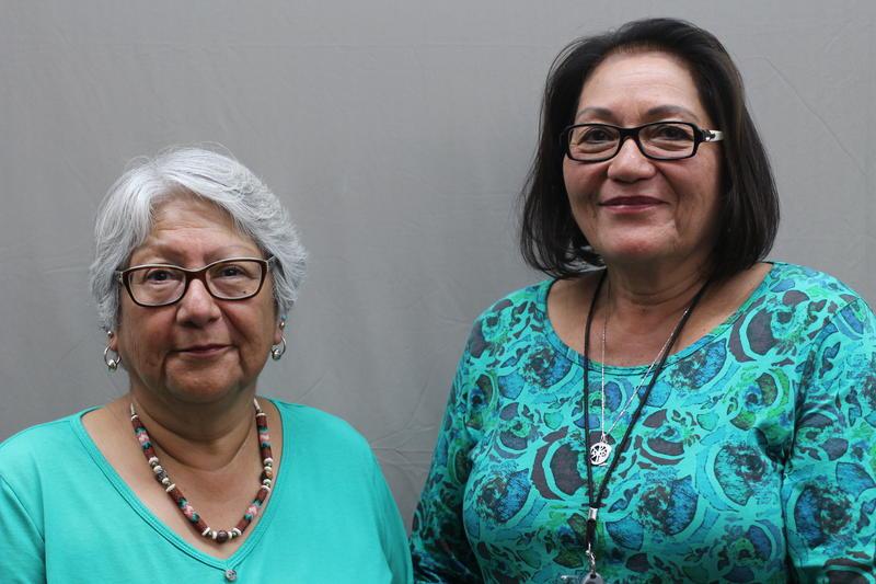 Kathleen Chegup and Charlene Duncan