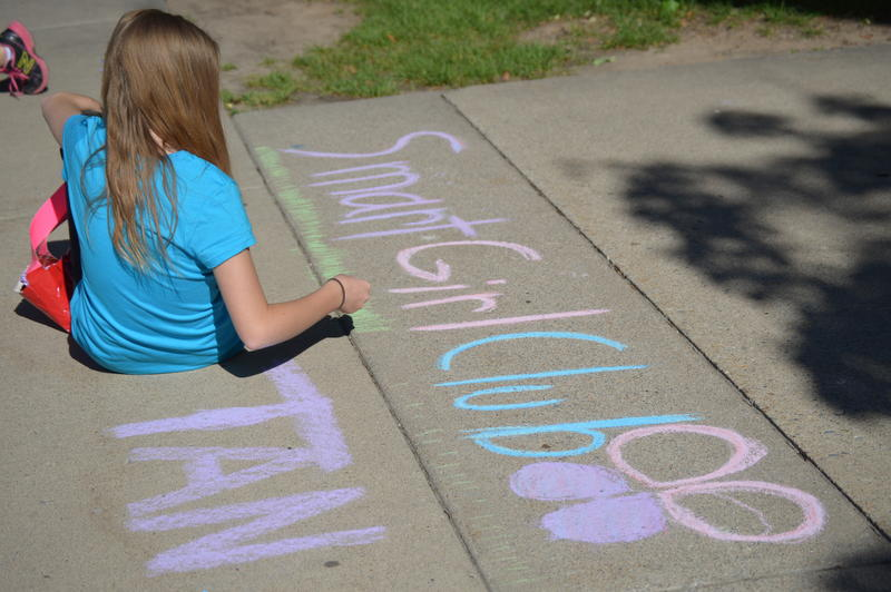 Young women receive relationship, body image, and bully training during a Smart Girl Camp in Logan.