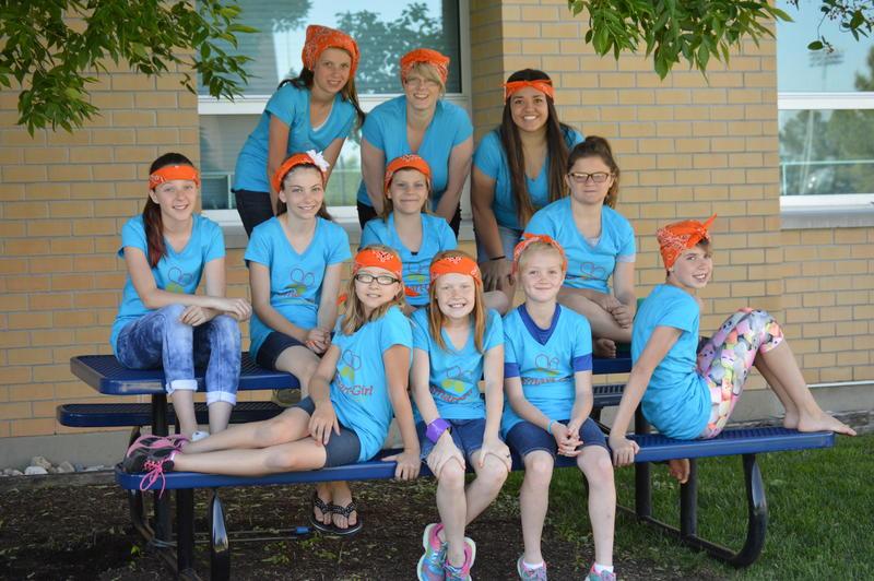 2016 USU Center for Women and Gender Smart Girl Camp participants