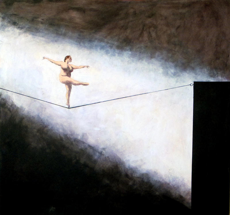 """Tightrope"" by Carol Berrey"
