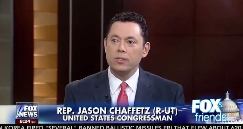 Jason Chaffetz on Fox News