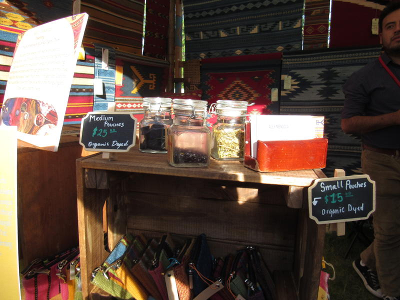 Some of the Dyes Used to Create Alehandro Mendoza's Weavings