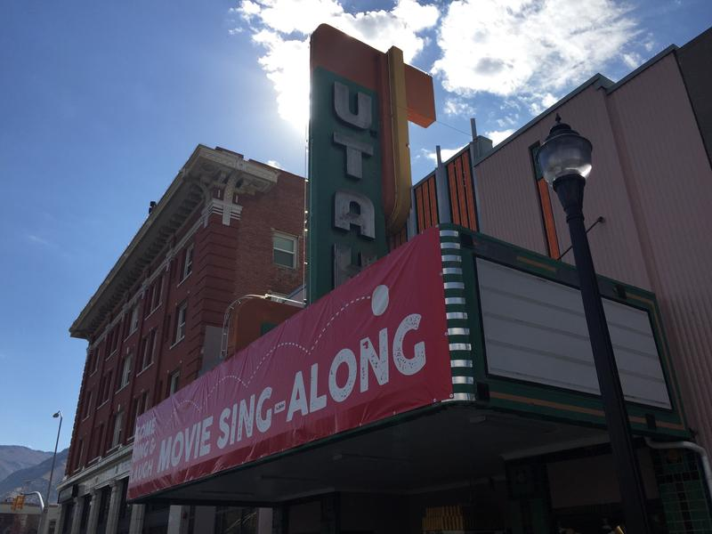 The Utah Theater is one of several operating theaters in Logan.