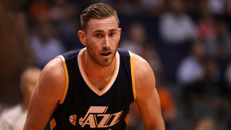 Gordon Hayward as a Utah Jazz player