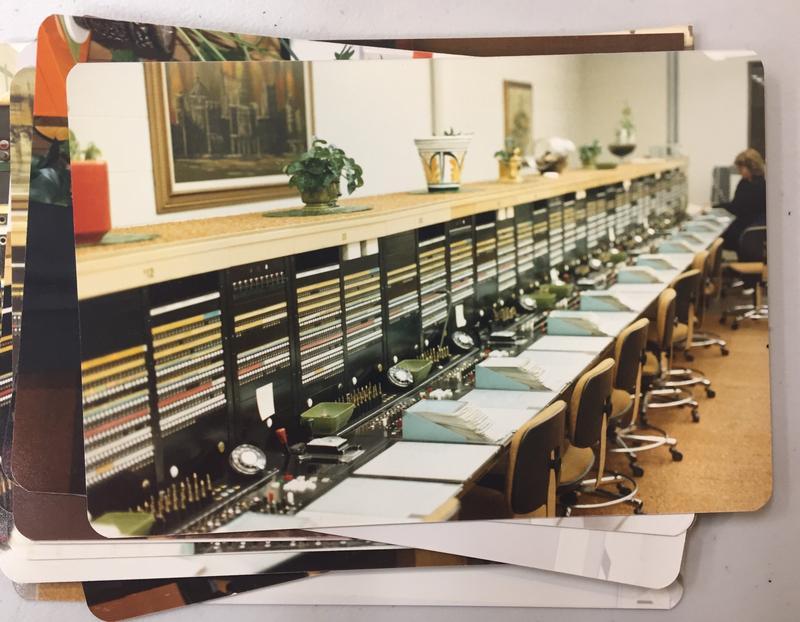 Telephone operating equipment in Moab, UT.
