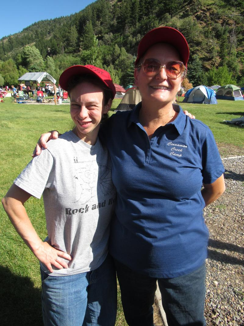 Krissy and her mom Leeann.