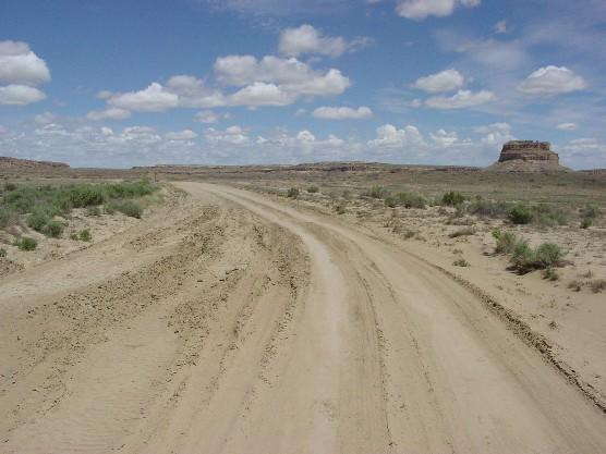 A southern Utah dirt road.