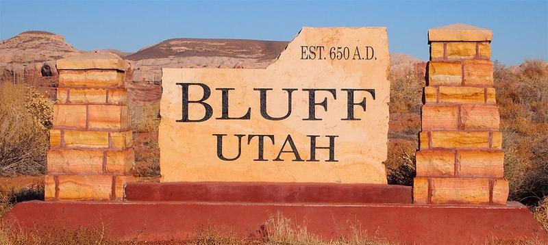 Bluff, UT