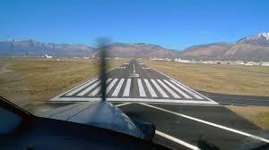Ogden-Hinckley Airport Runway