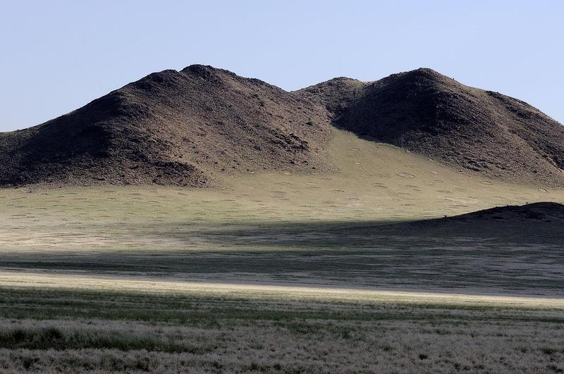 Fairy circles in Namibia's Namib-Naukluft National Park